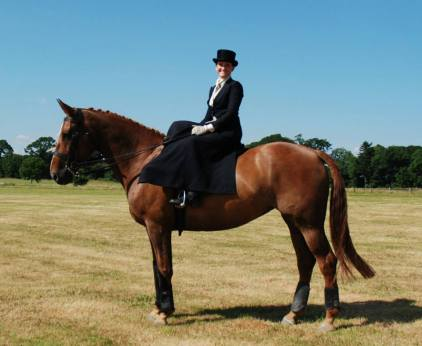 Our first side saddle hack