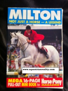 Milton mini book - Hosre & Pony Magazine 1992. Photo by Lorna Keogh
