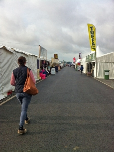 Balmoral Show - eerily quiet at 8am before the crowds arrived