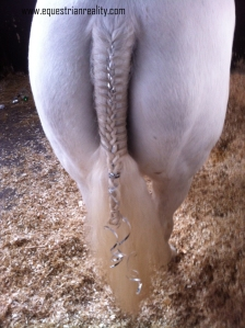 Quicbraid is also great for plaiting tails - including the 'princess sparkle' type of plait