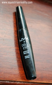 NYX Doll eyes waterproof mascara. Le Chick Flick is even better as it will curl your lashes but I have used all mine up so have no photo.