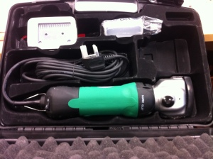 The ErgoPro packaged with all its accessories