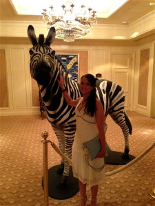 Meeting the Investec Zebra